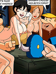 It's already full of naked women here - The Flintstoons Orgy at Buffalos' Club by welcomix (tufos)