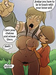 The legend of Korra Under my thumb - Open your chakras and release them by Fixxxer